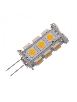 LED-GZ4, 10-30V, 2.9Watt, 18LED, 250Lumen=25Watt, dimmbar, warmweiss