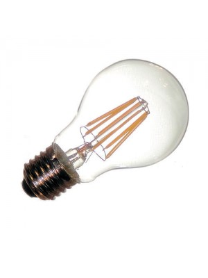 LED-E27, 230V, 4.8Watt, 410Lumen=40Watt, filament, warmweiss