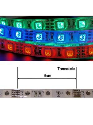led streifen rgb 500cm 12vdc 72 watt 2600lumen ip65 aussenbereich dimmbar led streifen. Black Bedroom Furniture Sets. Home Design Ideas